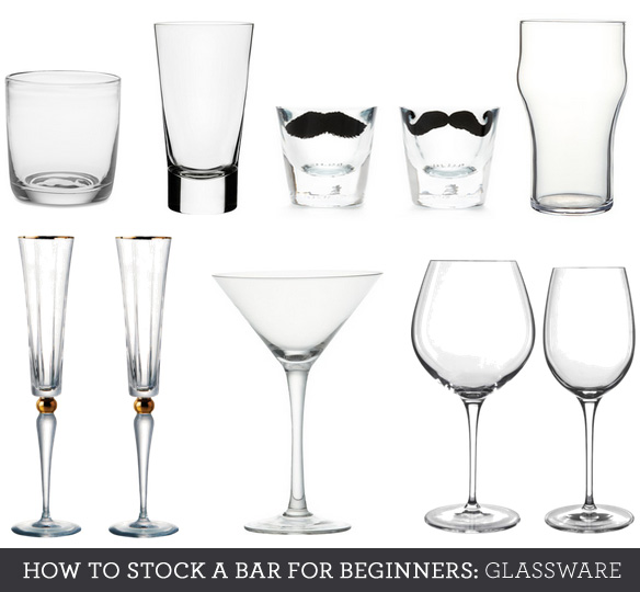 essential bar glassware
