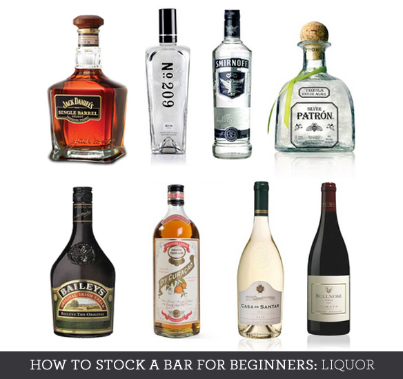 essential bar liquor