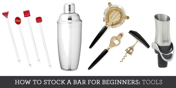 essential bar tools