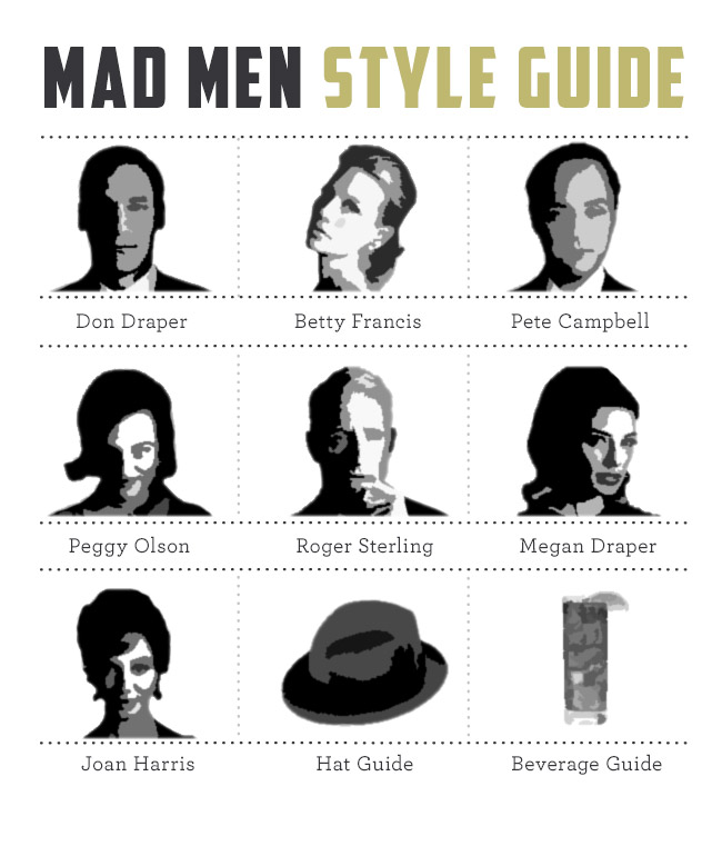 Mad Men style guide