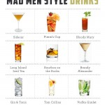 Mad Men Inspired Cocktails