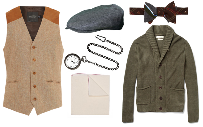 Great Gatsby Fashion: Nick-inspired Accessories