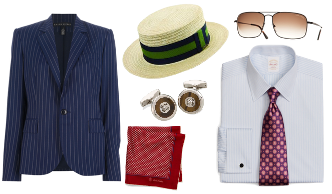 Great Gatsby Fashion: Tom-inspired Accessories
