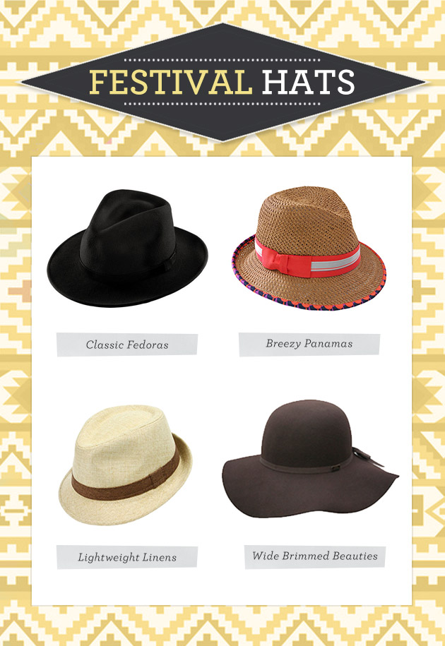 Music Festival Fashion Hats
