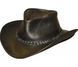 Henschel Full Grain Leather Walker U Shape It Hat