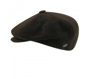 Bailey of Hollywood Galvin Wool Solid 8 Panel Cap