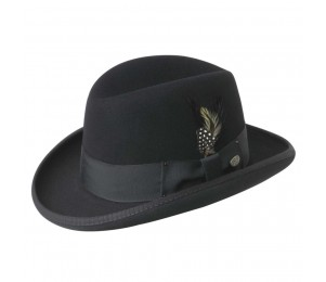Bailey of Hollywood Godfather Wool Felt Homburg