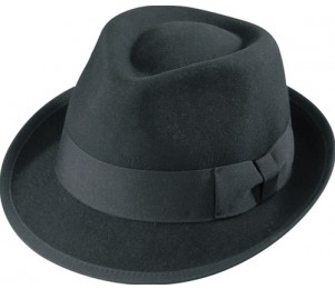 Henschel Wool Felt Executive Fedora Hat