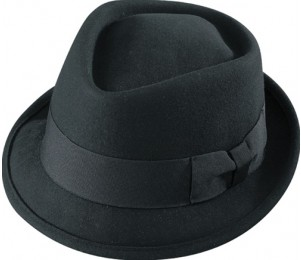 Henschel Soft Wool Felt Diamond Crown Fedora Hat