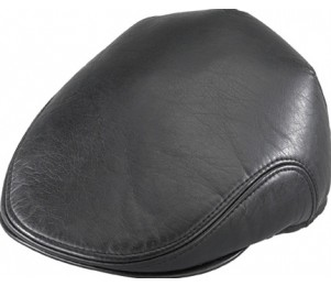 Henschel Faux Leather Ivy Cap