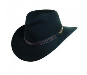 Scala Crushable Wool Felt Outback Hat