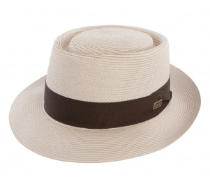 Dobbs Gate Straw Porkpie Hat