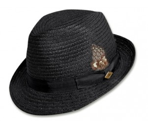 Stacy Adams Braid Fedora Hat