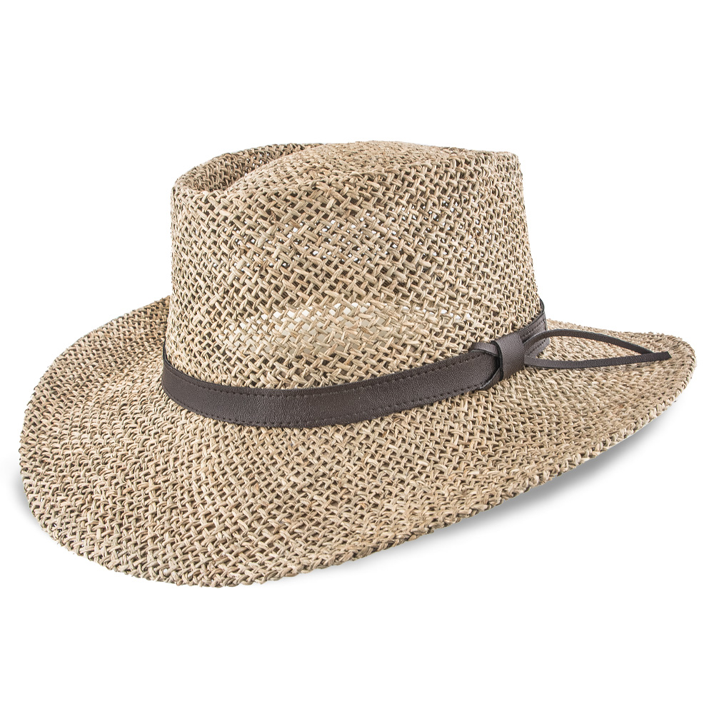 New Arrival - Stetson Gambler Seagrass Golf Hat