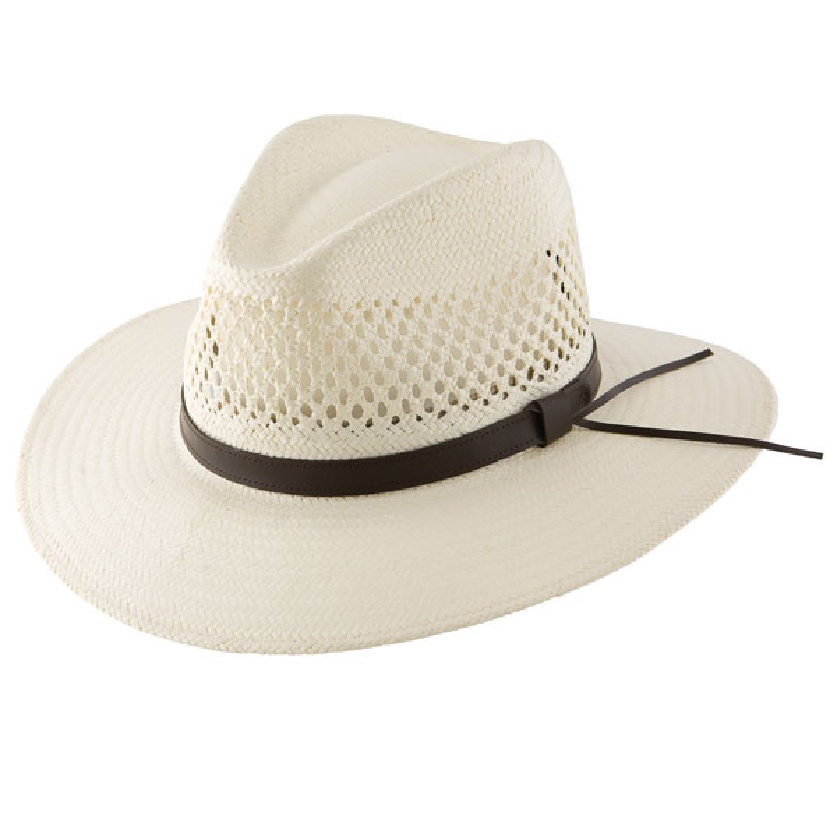 New Arrival - The Stetson Digger Shantung Straw Hat