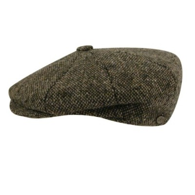 Bailey of Hollywood Galvin Tweed 8 Panel Cap