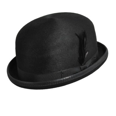 Bailey of Hollywood Harker Derby Bowler Hat