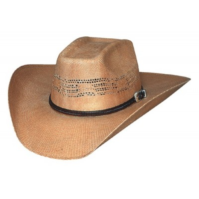 Bullhide Whiskey River 20X Straw Cowboy Hat