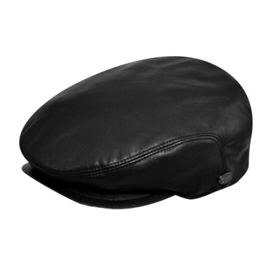 Bailey of Hollywood Stockton Leather Ivy Cap