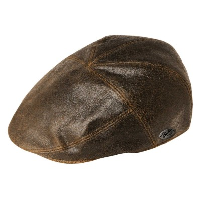 Bailey of Hollywood Taxten Leather Cap