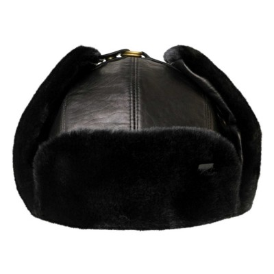 Bailey of Hollywood Vega Leather and Fur Trapper