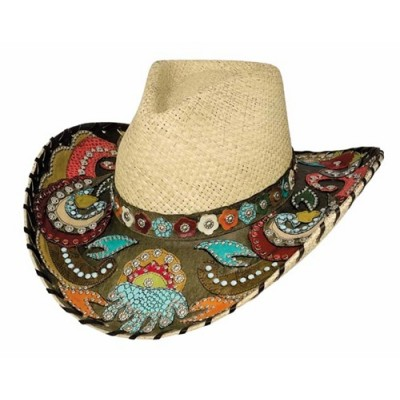 Bullhide Gypsy Queen Genuine Panama Hat