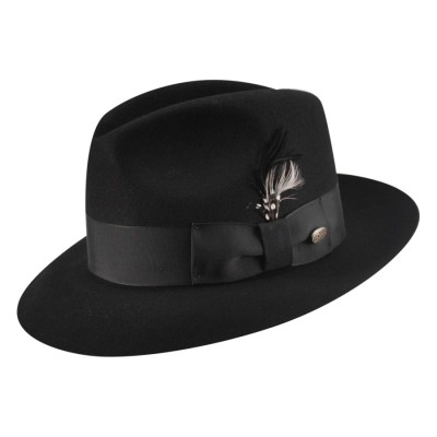 Bailey of Hollywood Gangster Wool Felt Capone Style