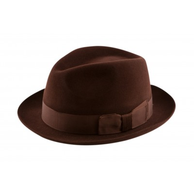 Christys' of London Camden Fur Felt Fedora Hat