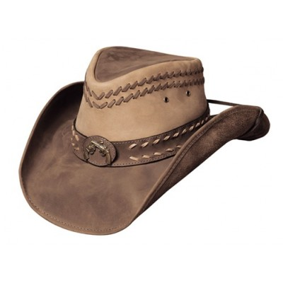 Bullhide Hideout Leather Cowboy Hat