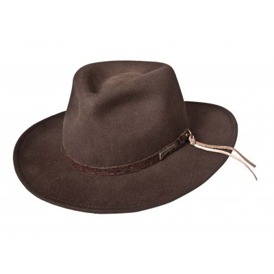 Indiana Jones Alligator Band Fedora