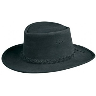 BC Hats Swagman Suede Leather Outback Hat