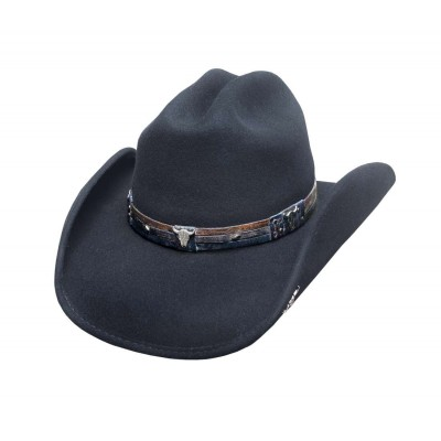 Bullhide Biting The Dust Wool Felt Cowboy Hat