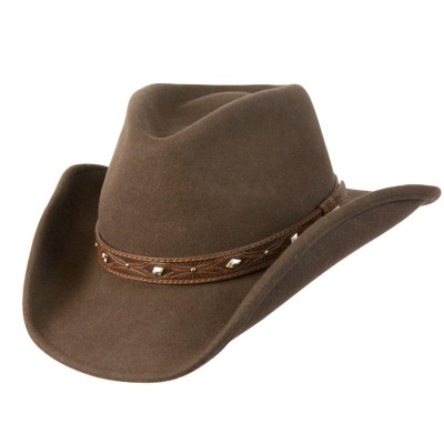 Conner Dakota Shapeable Western Wool Hat