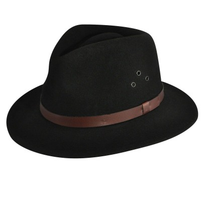 Country Gentleman Dickens Wool Fedora hat