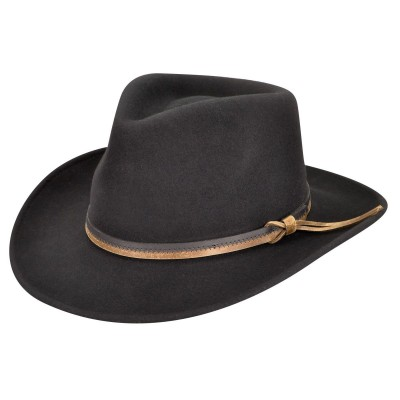 Country Gentleman Felt Outback Fedora Hat
