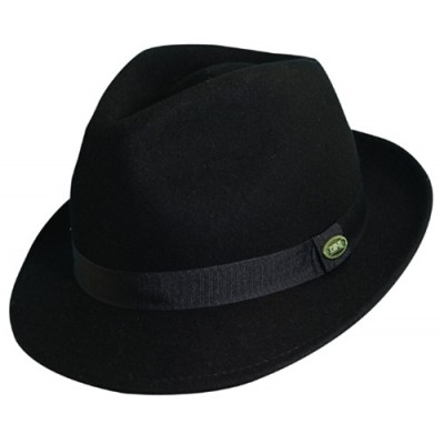 DPC Scala Classico Hand Made Crushable Wool Felt Fedora Hat