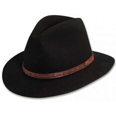 Scala Crushable Wool Felt Sierra Safari Brim