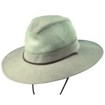 DPC Global Trends UPF50 Brushed Twill Safari Hat