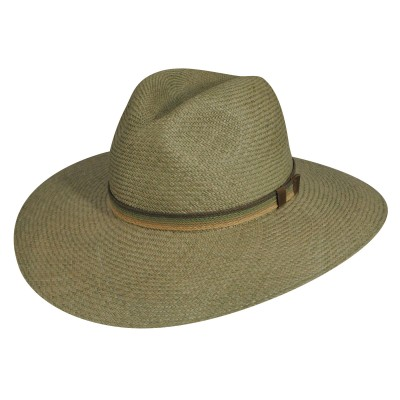 Pantropic Napa Sunblocker Wide Brim Straw Hat