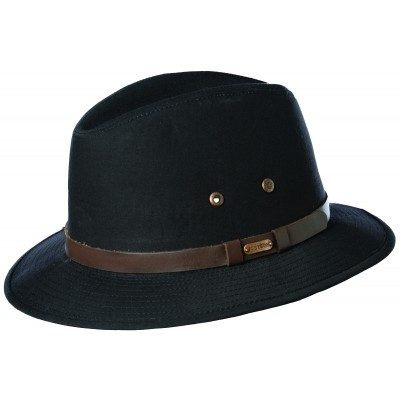 Stetson Gable Cotton Fedora Hat