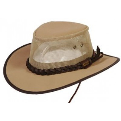 BC Hats Canvas Mesh Safari