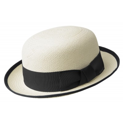Bailey of Hollywood Chaplin Straw Bowler Hat