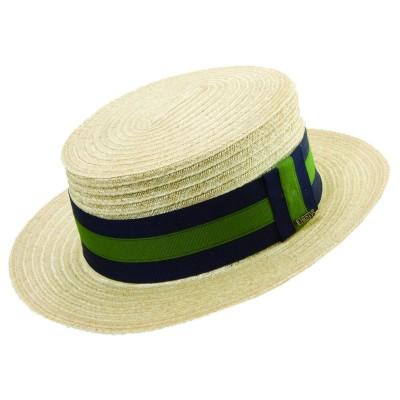 Christys' of London Hemp Braid Boater Hat