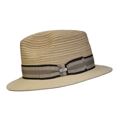 Conner Daniel Sewnbraid Paper Straw Crushable Fedora