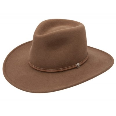 Stetson Edgewood Crushable Collection Edgewood Outback Hat - Brown