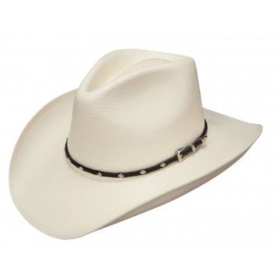Stetson Diamond Jim Straw Western Hat