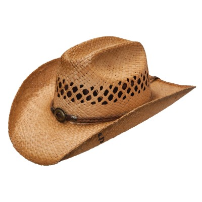 Stetson Big River Raffia Straw Cowboy Hat