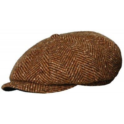Stetson Ivy League 8/4 Cap - Brown - Medium
