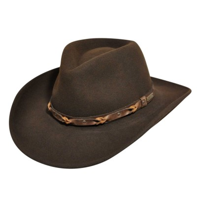 Wind River by Bailey Palisade Crushable Western Hat