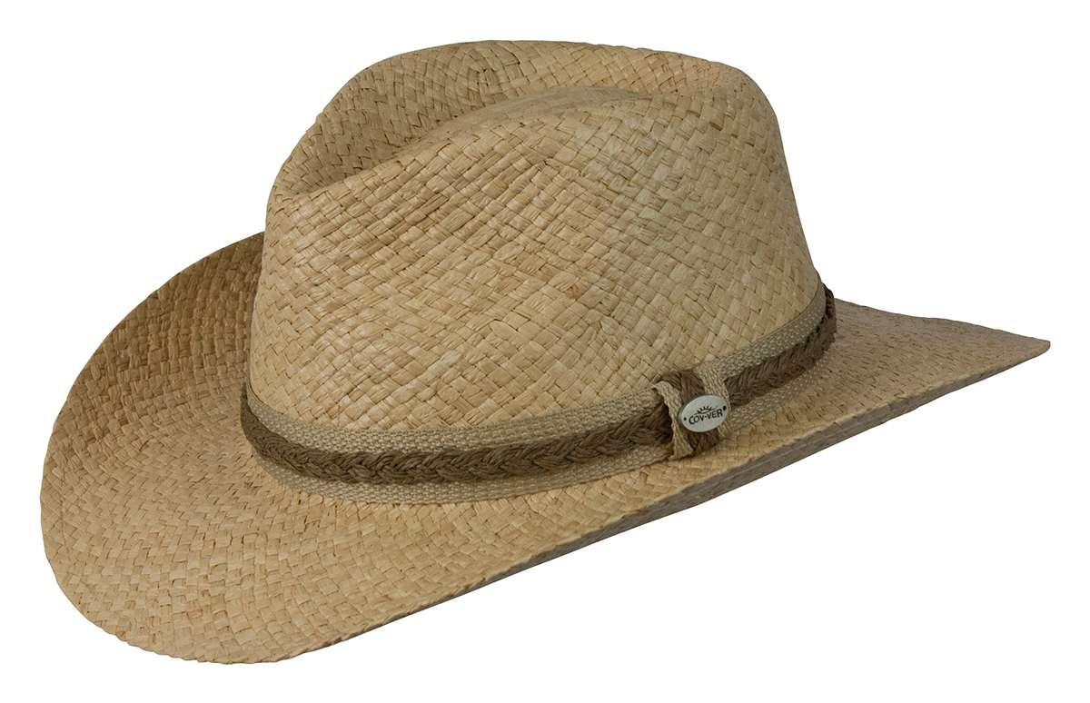 Conner Key Largo Outback Packable Straw Hat 8ba5299bcd68